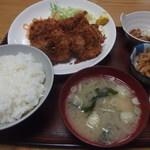 61014545 - マグロ串カツ定食650円