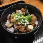 麺 Life 拓 - チャーシュー丼(ランチタイム200円)