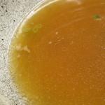 麺処 綿谷 - つゆ