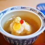 山玄茶 - 煮物 蕪蒸し 雲子 きくらげ ユリ根 銀杏