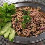 タイ料理 あろいなたべた - ラープムー630円+税