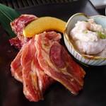 焼肉・韓国料理 ソウル家 - ホルモン・生ラム・サガリ。
