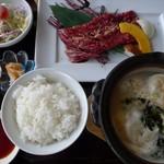 焼肉・韓国料理 ソウル家 - 新春ランチ。