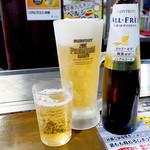 電光石火 - 生ビールとノンアルビール