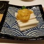 和食 ひと塩 - 東京ウドの酢味噌あえ