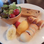 タケシゲ - 料理写真:パンセット