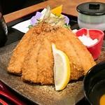 海まかせ旬菜料理 石廊庵 - 網代で獲れたアジフライ定食
