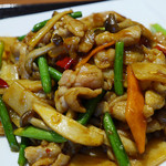 百菜百味 - 豚肉とキノコの甘辛炒め