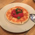 61027295 - パルメザンチーズの焼きリゾット レモン風味トマトソース