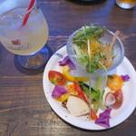 ジョカーレcon.ichi - 見た目もキレイなサラダ