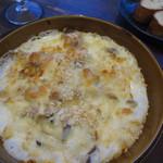 ジョカーレcon.ichi - 長州鶏とキノコのグラタン