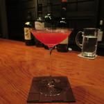 bar K家 - ザクロのカクテル