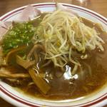 浅月 - もやしそば  730円   もやしと麺が絡む〜♡