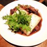 サムライ - 豆腐の生姜焼