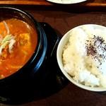 串揚 やまと - 純豆腐定食