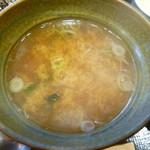 小次朗 - お味噌汁