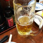 Gonta - 1701 ごんた 生ビール@250円
