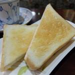 たまゆら - トースト(ブランチセット)