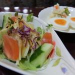 たまゆら - サラダとポテトサラダ(ブランチセット)