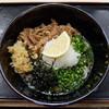 Teuchiudonkuukai - 料理写真:肉ぶっかけうどん
