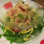 柳華 - 蕪と叉焼のガーデンサラダ
