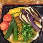 うどん 四方吉 - 濃厚野菜カレーうどん