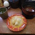 元禄寿司 - 赤だしとつぶ貝