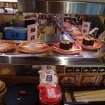 元禄寿司 - レーンの状況