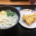 武蔵 - かけ出汁と鶏天ってあうんですよねっ(*´д`*)