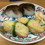 61037974 - 鯖寿司といなり寿司 1350円
