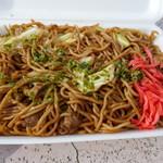 福三 - 料理写真:焼きそば450円