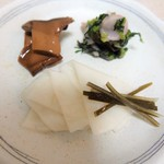 村上重本店 - 千枚漬、日野菜、エリンギ