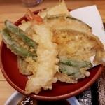 いわもとQ - 【2017/1】天ぷら(盛合せ)