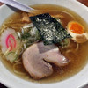 らーめん梵天 - 料理写真:梵天らーめん(平打麺)