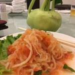人和園雲南菜 - 雲南かぶとトマトの前菜188元