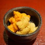 鮨菜 和喜智 - 料理写真:ムラサキウニとバフンウニの丼