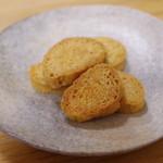 ダイコウ醤油 - 料理写真:しょうゆラスク