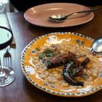 トラットリアピッツェリア polipo - タコと白いんげん豆の温野菜