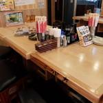 目利きの銀次 徳山駅前店 - 店内テーブル席
