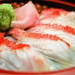 海まかせ旬菜料理 石廊庵 - 金目あぶりどんぶり膳