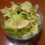 ニュー高円寺インディア - セットの野菜