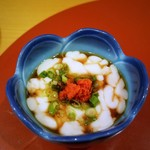 鮨 たなべ - 白子ポン酢