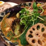 スープカレー ポニピリカ - わぁ。凄い。野菜いっぱい。