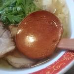 厚木本丸亭 - 澄んだ鶏ガラスープ