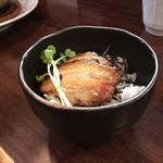 麺家 半蔵 - ミニチャーシュー丼