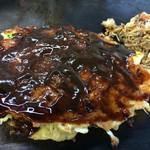 万味 - 料理写真:豚焼にどろソースをたっぷりかけていただきますっ❤︎