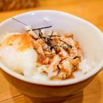 麺屋 Hulu-lu - オニオンチャーシュー半熟卵丼