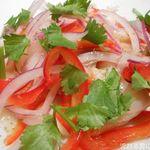 NAAK CAFE  - 鯛のセビーチェ ライムとクミンの爽やかな香り サラダ仕立て