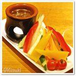 61062924 - 彩り野菜のバーニャカウダー