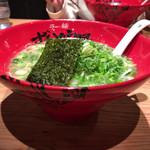 ラー麺 ずんどう屋 - 2017年01月09日  ねぎらーめん 930円